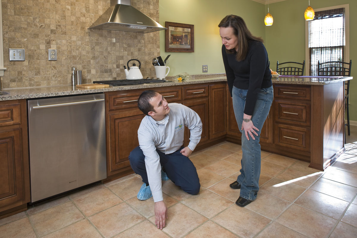 The Best Thing To Clean Kitchen Floor Grout With