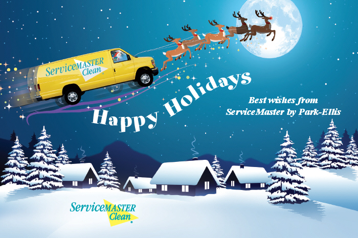 Happy Holidays From Servicemaster By Park Ellis